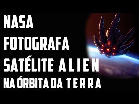 NASA capta satélite ALIEN na órbita da TERRA - BLACK KNIGHT