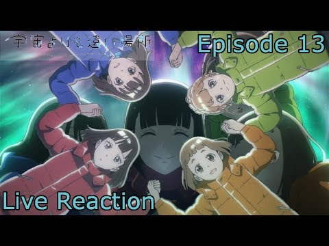 Antarctica Girls Episode 13 Live Reaction