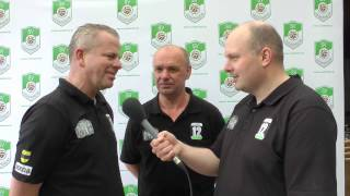 30. Spieltag 2012/13 vs. Horrem II (Damian Mlitzko & Arthur Wyschanowski)