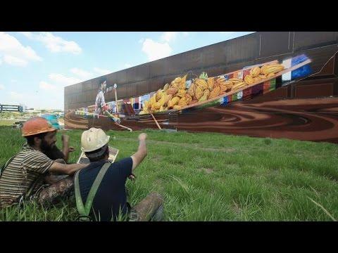 Kobra estabelece novo recorde com maior mural do mundo em São Paulo