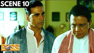 Boss | बॉस | Scene 10 | Face Off With Truth | Akshay Kumar | Mithun Chakraborty | Viacom18 Studios
