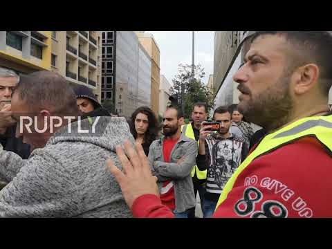 Lebanon: Hundreds fill Beirut in protest against political stalemate