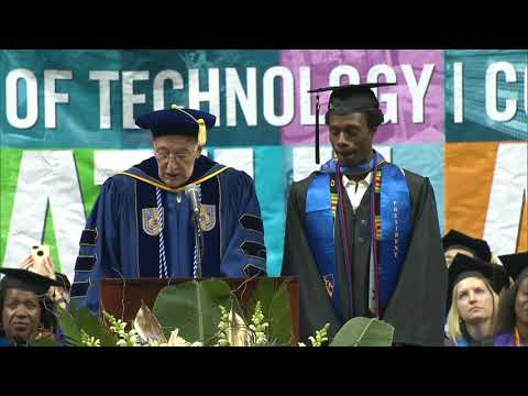 2017 New York City College of Technology 77th Commencement Pt.2