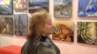 интервью с Галиной Воронкиной ч 2, выставка художников