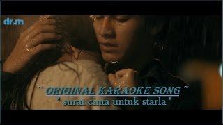 Video Virgoun- Surat cinta untuk starla karaoke tanpa vokal (original karaoke song) download MP3, 3GP, MP4, WEBM, AVI, FLV Mei 2018
