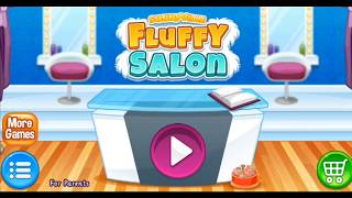 Sunnyville Fluffy Salon - Pet Makeover Bath Dress Up Hair Salon Wash, Cut and Style  Game For Girls