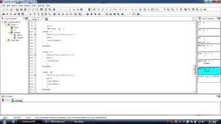CodevisionAVR - Переключатель switch/case (урок 7)