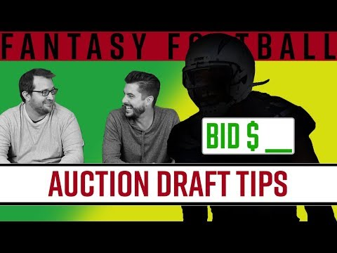 Auction Draft Tips | Fantasy Football 2019