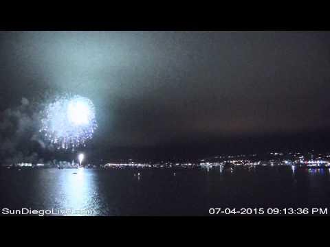Big Bay Boom 2015 from Harbor Island (S) Camera at Tom Ham's Lighthouse