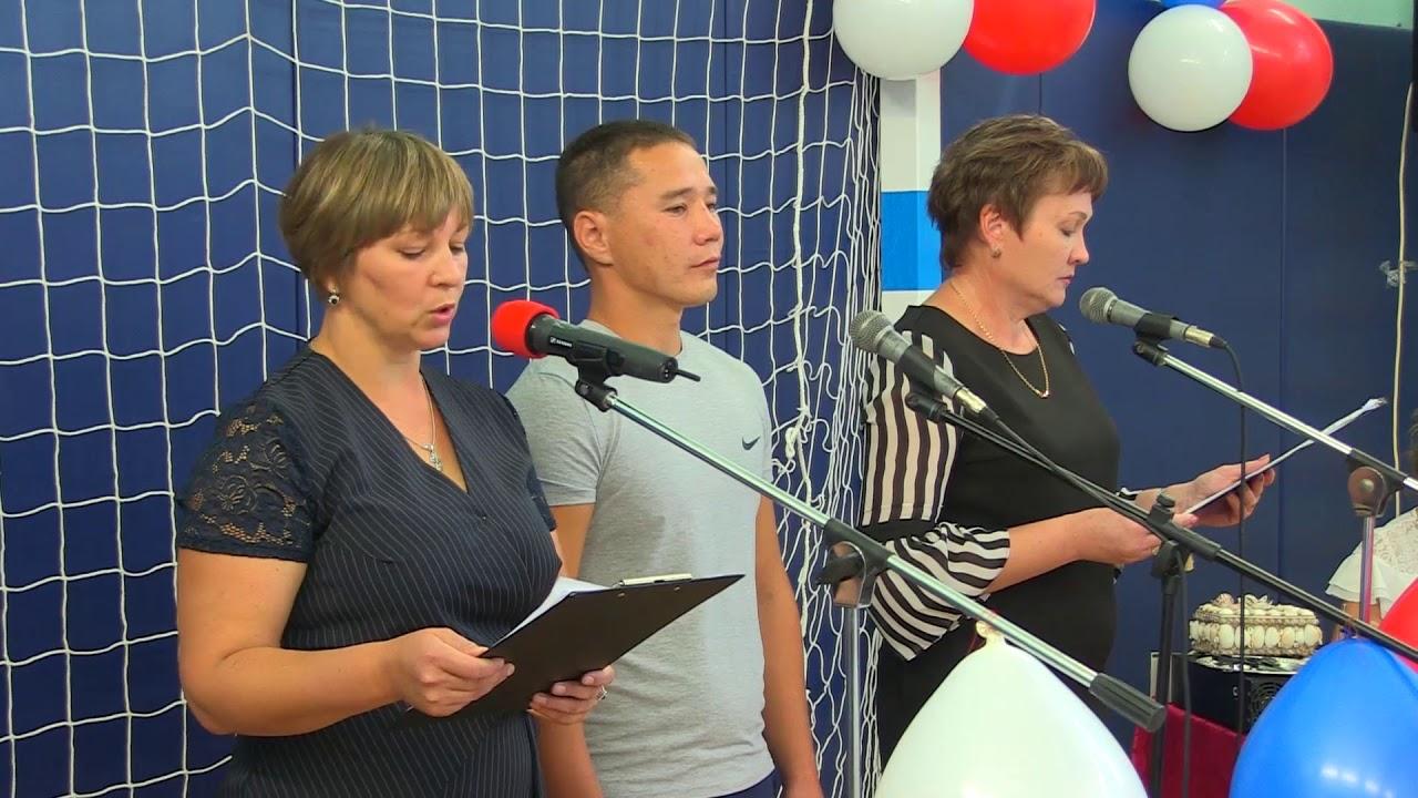 Открытие спортзала в Красносельцевской СШ