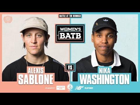 WBATB   Alexis Sablone vs. Nika Washington - Round 1