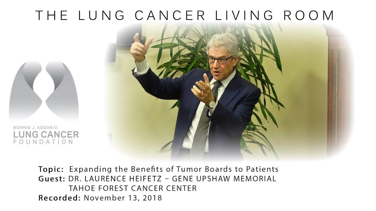 Lung Cancer Living Room 11 14 18 Youtube