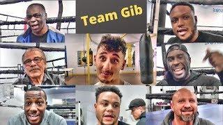 Meet Team Gib! The guys getting AnEsonGib ready to mow down Jake Paul