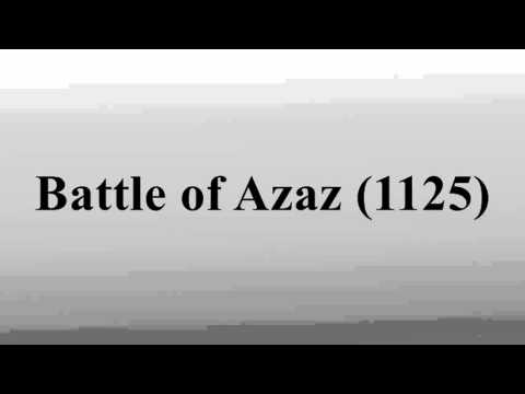 Battle of Azaz (1125)