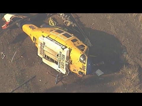 euronews (deutsch): Löschhubschrauber in Queensland abgestürzt