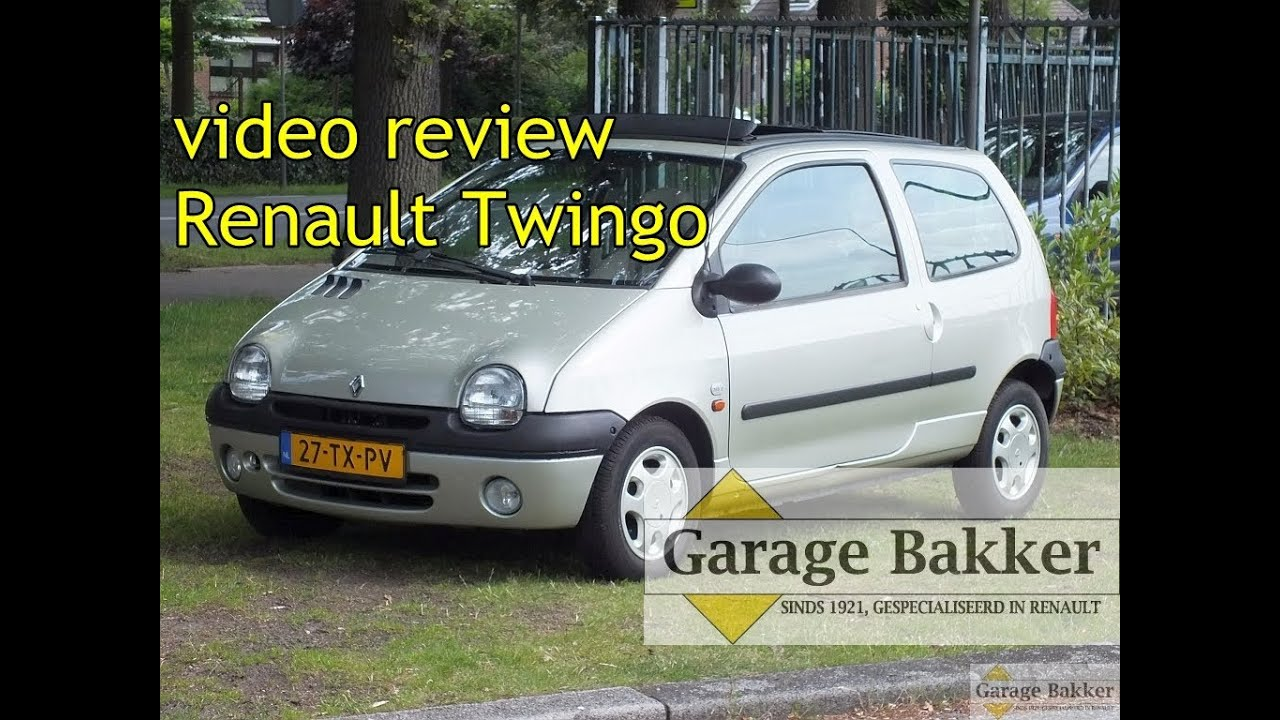 video review renault twingo 1 2 60 initiale 2000 27 tx. Black Bedroom Furniture Sets. Home Design Ideas
