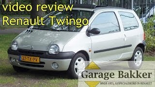 Video review Renault Twingo 1.2 60 Initiale, 2000, 27-TX-PV