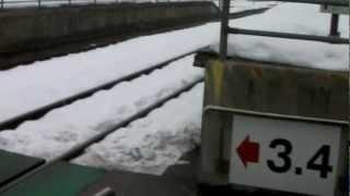 会津田島駅にて野口英世のペイントをした電車に乗り込むまでの動画です...