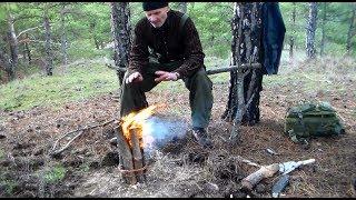 Альтернатива Шведской свече и походным мини печкам