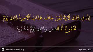 Qs 11103 Surah 11 Ayat 103 Qs Hud Tafsir Alquran
