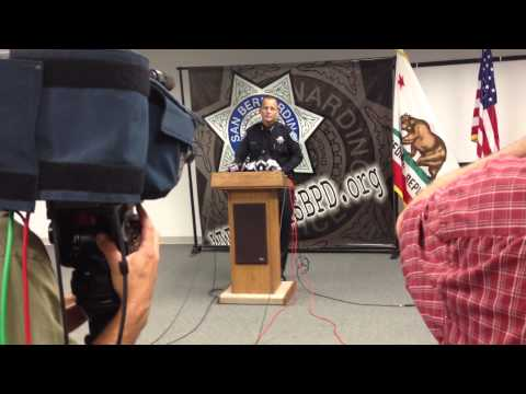 SAN BERNARDINO: POLICE AND FIRE CHIEFS RESPOND TO BANKRUPTCY PROTECTION