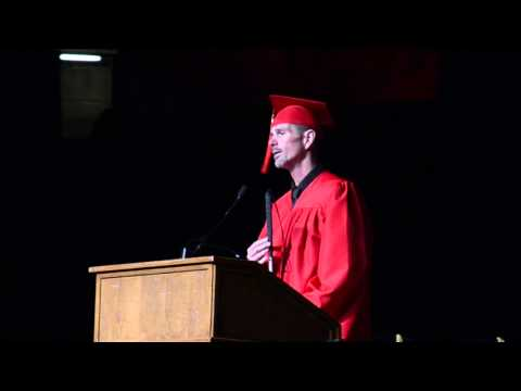 Student Speaker for Community Care College - Graduation 2015