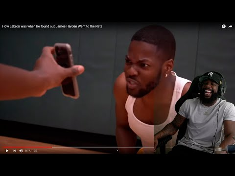 THIS IS FAX! How Lebron Was When He Found Out James Harden Went To The Nets