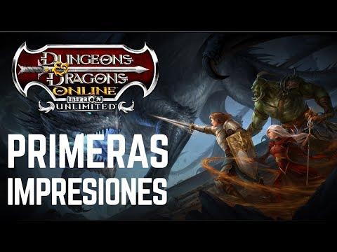 Dungeons & Dragons Online MMORPG – Primeras impresiones – Gameplay en Español