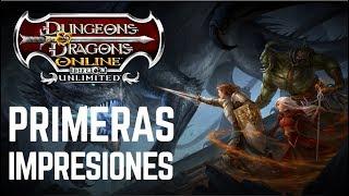 Dungeons & Dragons Online MMORPG - Primeras impresiones - Gameplay en Español