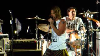 Foo Fighters with Brad Wilk from RATM