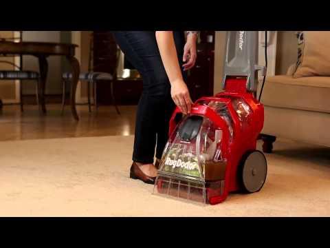 Rug Doctor Deep Carpet Cleaner - Emptying Waste Water Tank