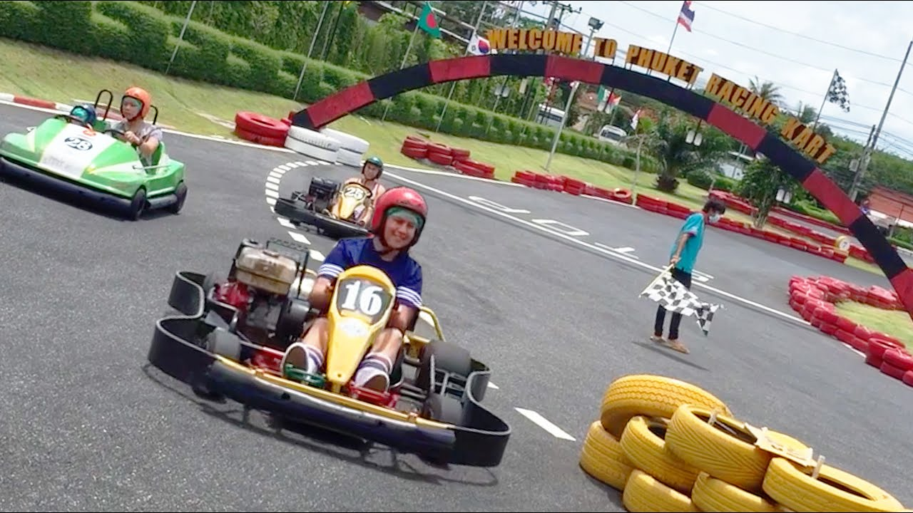 Phuket Go Karting Day In The Life Youtube