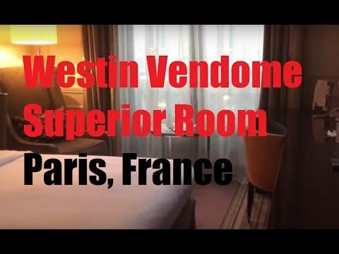 SPG: Westin Paris Vendome - Superior Room