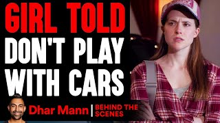 GIRL Told DON'T PLAY With Cars ft. Supercar Blondie (Behind-The-Scenes) | Dhar Mann Studios