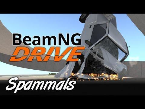 BeamNG Drive | Part 1 | SPAMMALS SMASH!