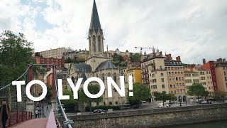 Off to Lyon! From Paris to Lyon by TGV