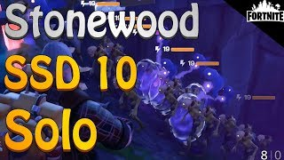 FORTNITE - Stonewood SSD 10 Solo Without Shooting Any Weapons