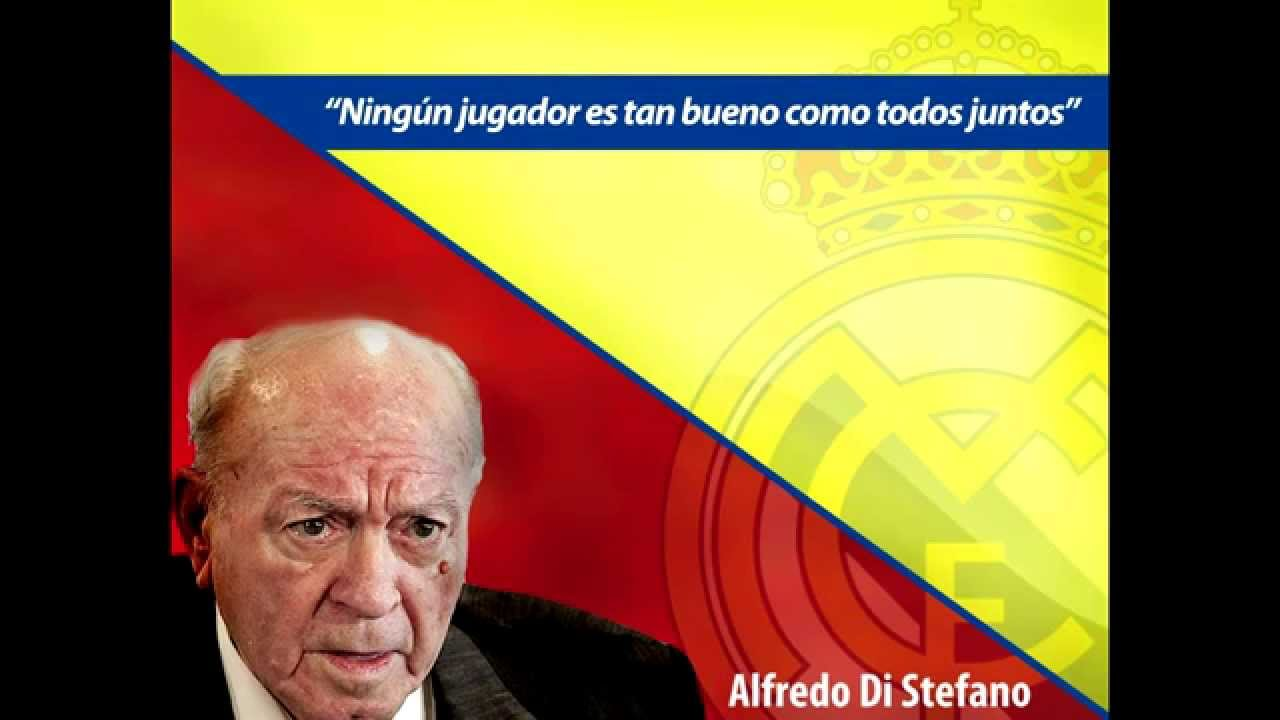 Alfredo Di Stéfano 10 Frases Para El Recuerdo