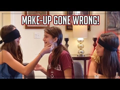 Blindfolded Makeup Challenge with Roselie Arritola I Hello Sister
