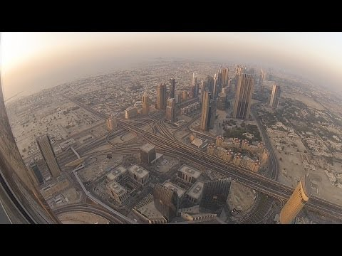 """Burj Khalifa """"At The Top"""" Observation Deck (Complete Experience) (full HD)"""