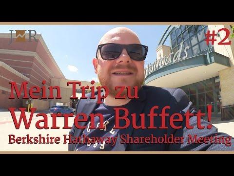 Mein Trip zu Warren Buffett - Berkshire Hathaway Shareholder Meeting -VLOG 2