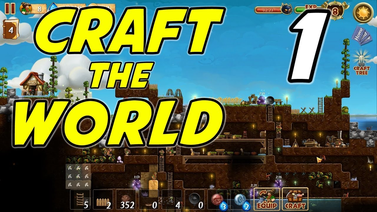Craft The World Test