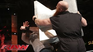 Erick Rowan vs. Luke Harper: Raw, December 8, 2014