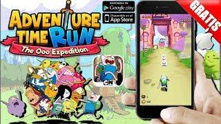 Dica de jogo saiu Adventure time Run para android/ios/iPhone download free