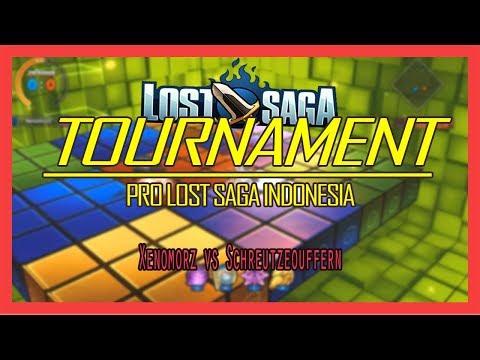 Xenomorz vs Schreutzeouffern  Tidak Diberi Ampun !  Tournament Pro Lost Saga Indonesia