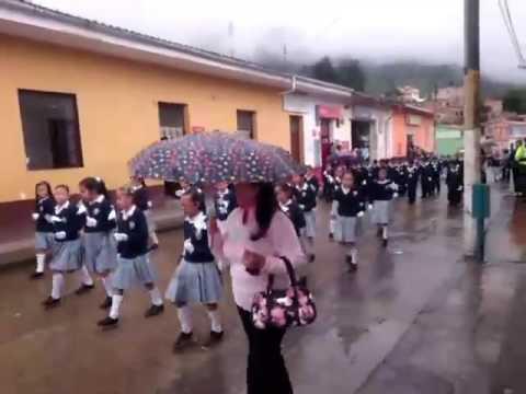 Desfile en directo 20 de julio 2016 Choachí Cundinamarca