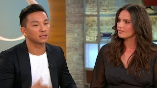 Designer Prabal Gurung and model Candice Huffine on plus-size collection