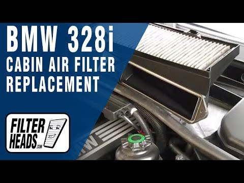 Cabin Air Filter Replacement Bmw 328i Youtube