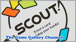 ワンモアゲームさんの2019年ゲームマーケット秋の作品「SCOUT!」です。 大富豪的に手札のカードを出してゆくのですが、カードの並べ替えができ...