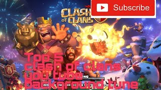Top 5 you tube video background songs clash of clans gems player